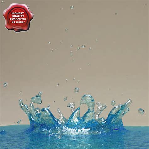Gantungan Dinding Model Water Droplet 3d waterdrop models max 3ds obj c4d fbx