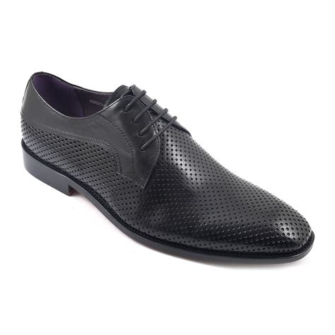 Sale Nevada Slip On Shoes Ori buy black mesh derby mens shoes gucinari