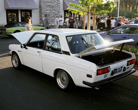 peppylepew white and black datsun 510 for sale in
