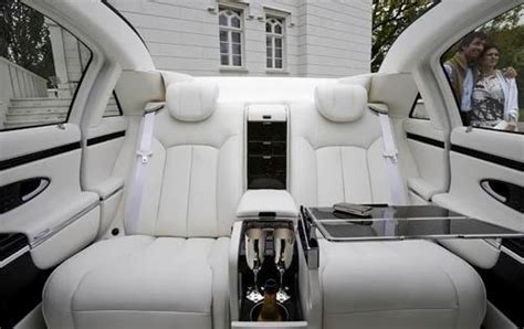 active cabin noise suppression 2012 maybach 62 seat position control 2011 maybach landaulet convertible carnews