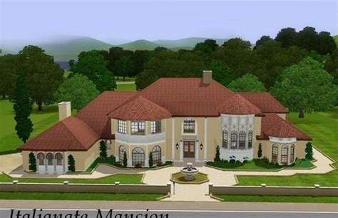 sims 3 house plans mansion sims3 italianate mansion lisisoft
