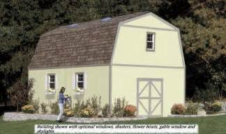 Gambrel Roof Barn Plans by Two Story Storage Buildings Make The Perfect Man Cave Or