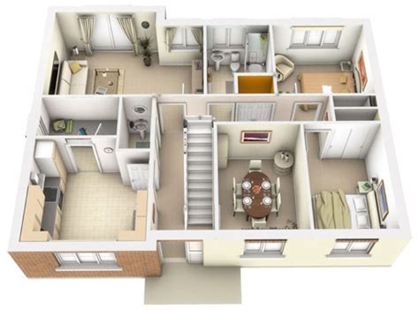 3d architecture interior plan