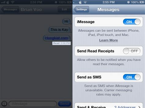 phone text template read receipt 15 iphone tricks and tips you did not about app