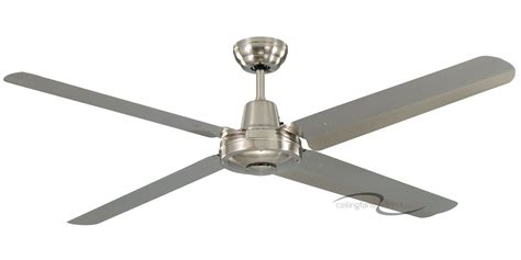 Martec Ceiling Fans by Martec Cyclone 48 Quot 304 Grade Stainless Steel 4 Blade