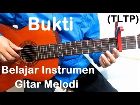 tutorial gitar virgoun belajar gitar bukti melodi youtube