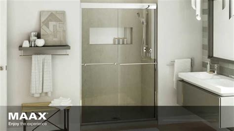Max Shower Doors Aura Shower Door Maax Bath Inc