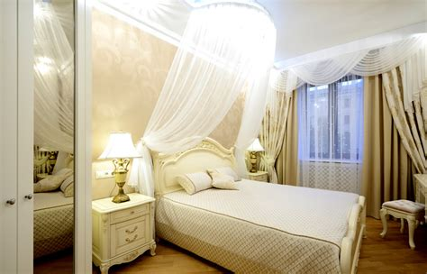 how to make canopy bed curtains how to make your small bedroom look bigger designing idea