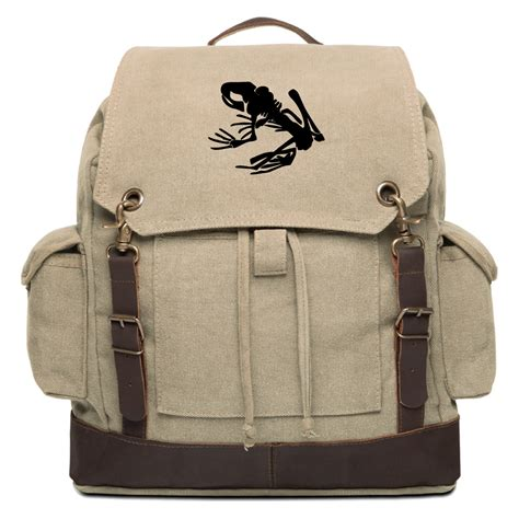 seal backpack navy seal team devgru frog skeleton canvas rucksack