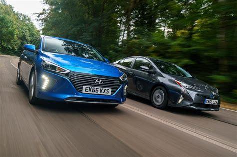 Hyundai Prius by Hyundai Ioniq Vs Toyota Prius Pictures Auto Express