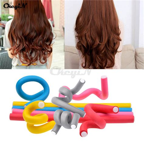Bendy Hair Roller Sponge Isi 6 popular flexi rod curlers buy cheap flexi rod curlers lots from china flexi rod curlers