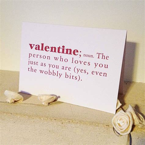 define valentines day wobbly bits dictionary definition s day card by