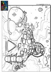free coloring pages angry birds space