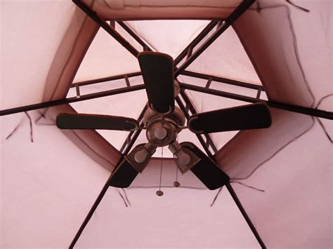 Gazebo Fan Outdoor by Morning Meditation