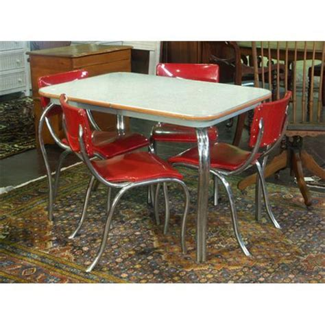 1950s table and chairs circa 1950s chrome dining table and chairs