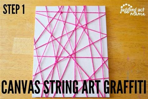 String Canvas - string ideas canvas string graffiti juggling