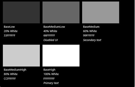 microsoft powerpoint templates for uwp color