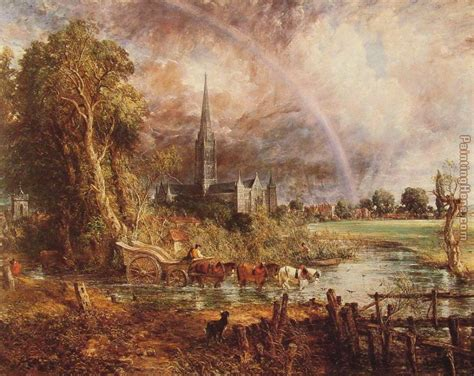 by john constable salisbury cathedral tell me this isn t a beautiful place to live the