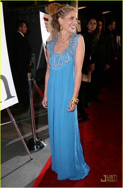 Geller In Temperley For The Premier The Air I Breathe by Gellar Is Brilliant Blue Photo 855901