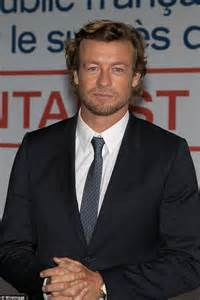 blond hair actor in the mentalist simon baker attends photo call for the mentalist in france
