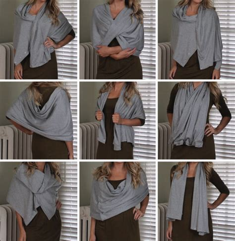 hammers and high heels sew easy diy multi wear snap scarf