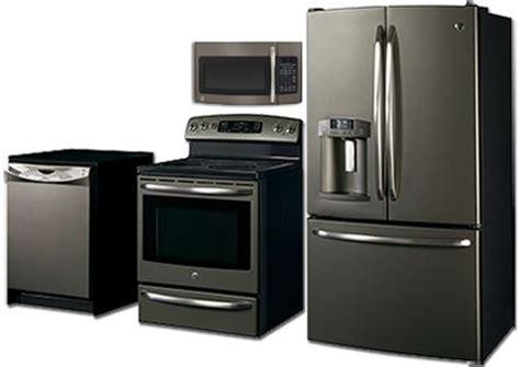 kitchen appliance finishes appliances slate finish ge it s not black not white