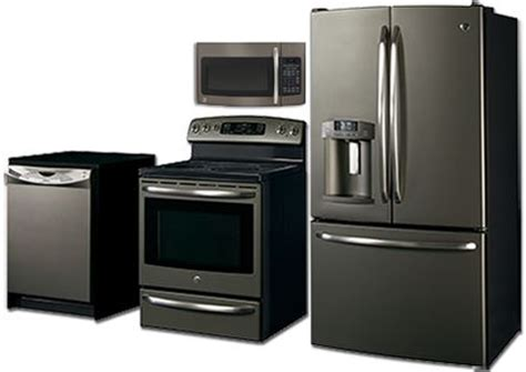 Appliances   SLATE finish   GE   It's not black, not white