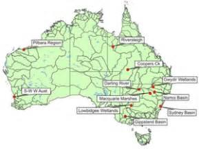 australia river map the gallery for gt major australian rivers map