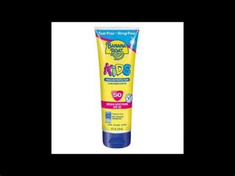 banana boat sunscreen not working banana boat kids sunscreen lotion spf 50 fragrance free