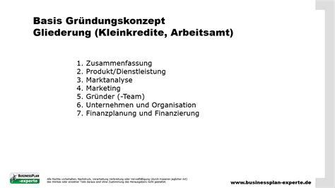 Word Vorlage Konzept Gr 252 Ndungskonzept Erstellen Businessplan Experte