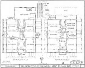 free building plans file putnam house floor plans jpg