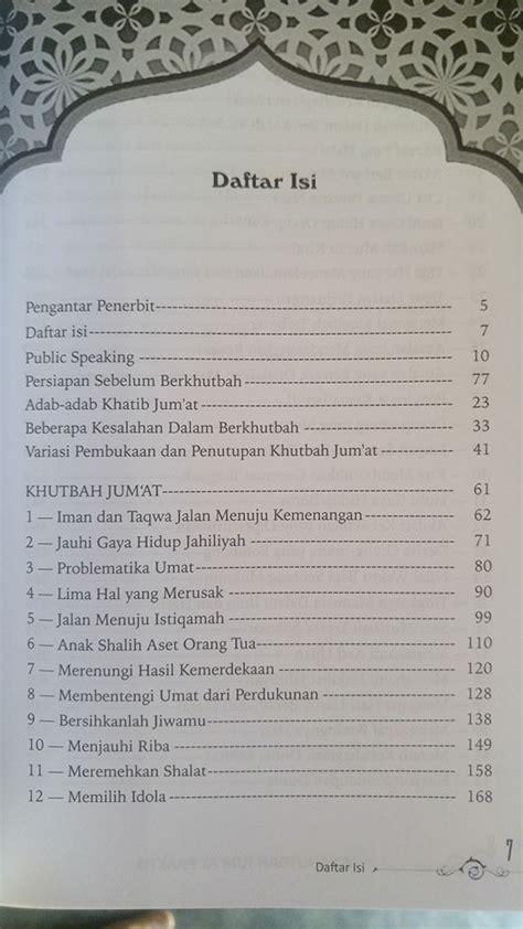Pemuda Kesatria Langit buku 52 khutbah jum at praktis toko muslim title