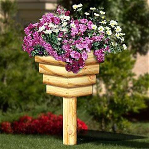Landscape Timber Basket Landscape Timber Basket Stands Diy Woodcraft Pattern 2262