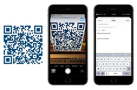 iphone q r code scan qr codes with iphone running ios 11 using the app