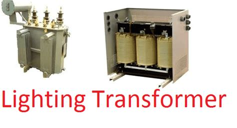 electrical transformers for lights why lighting transformer used for lighting loads