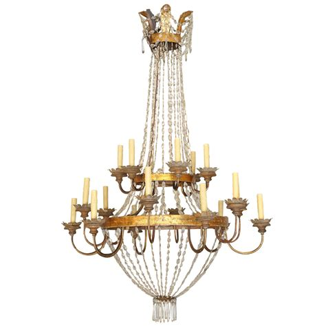 19th Century Chandelier Large Early 19th Century Chandelier From Lucca For Sale At 1stdibs