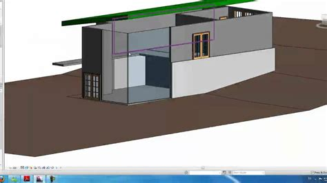how to create a curtain wall in revit autodesk revit tutorials 10 adding a curtain wall youtube