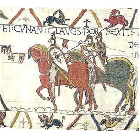Tapisserie De Bayeux Entière by La Tapisserie De Bayeux Texte Traduction