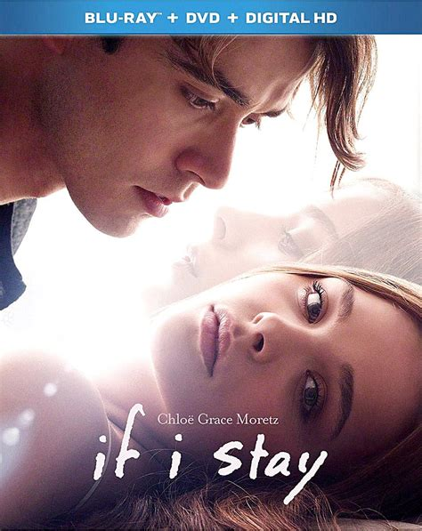 if i stay if i stay dvd cover