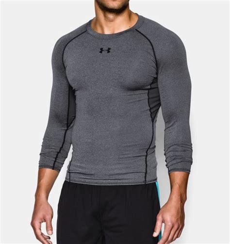 Mens Logo Sleeve Compression s ua heatgear 174 armour sleeve compression shirt