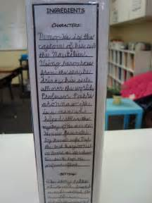 cereal box book report template 5th and fabulous cereal box book reports