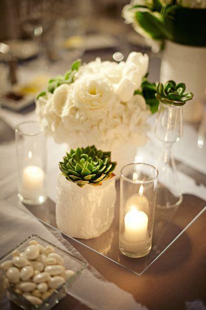 Centerpieces With Hurricane Vase Ideas Fleurs Id 233 Es De D 233 Co De Mariage Mlle Escarpins