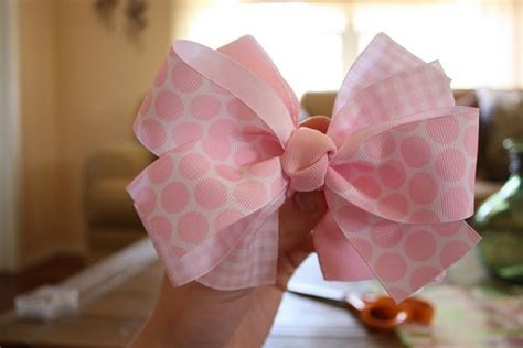 direction make hair bows how to make hair bows this is the easiest way i have found