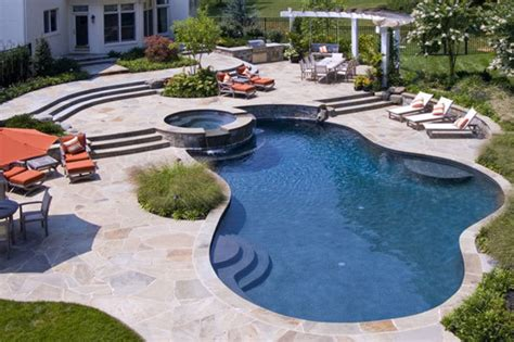 poolside designs new home designs latest modern swimming pool designs ideas