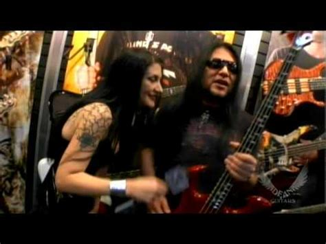 bob zilla bob zilla of hell yeah and metal sanaz for dean guitars