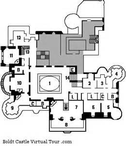 4th floor plans boldt castle a tour