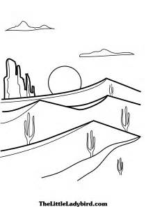 desert coloring pages desert free coloring color on pages coloring