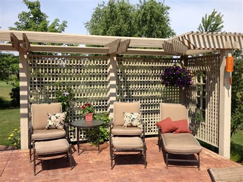 Trellis For Patio by Patio Patio Trellis Home Interior Design