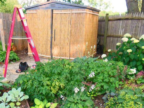 build  tiki hut garden shed