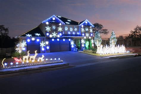 gangnam style light show video christmas lights sync